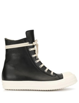 Laarzen Met Colourblock by Rick Owens