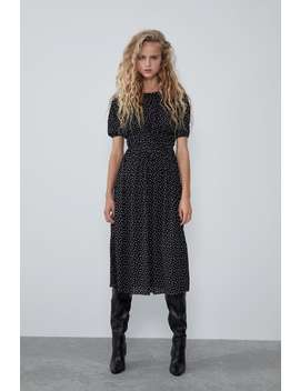 PuntÍkovanÉ Šaty by Zara