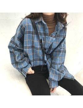 Guajillo   Long Sleeve Plaid Shirt by Guajillo