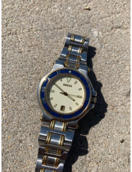 Mens 1980's Gucci Dive Watch by Gucci  ×  Vintage  ×