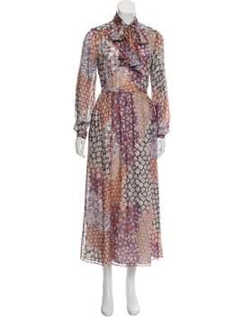 Floral Silk Dress by Paul & Joe