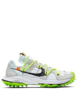 X Off White Zoom Terra Kiger 5 Sneakers by Nike