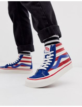 Vans Sk8 Hi Anaheim Factory Trainers by Vans