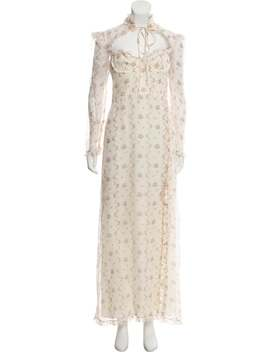 Floral Print Maxi Dress by Brock Collection
