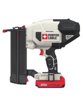 Porter Cable Pcc790 La 20 V Max 18 Ga Cordless Brad Nailer Kit by Porter Cable