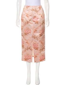 Floral Midi Skirt by Brock Collection