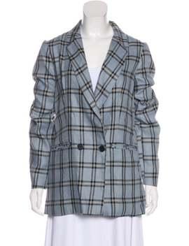 Short Linen Coat by Reformation