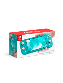 Nintendo Switch Lite Console, Turquoise by Nintendo