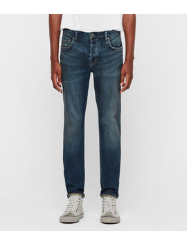 Carter Straight Jeans, Washed Indigo by Allsaints