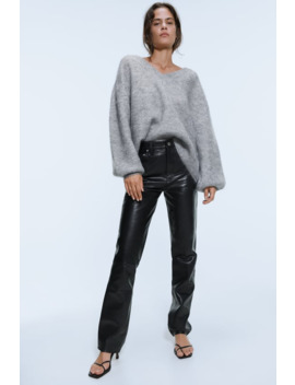 Sweater Com Mohair E LÃ by Zara