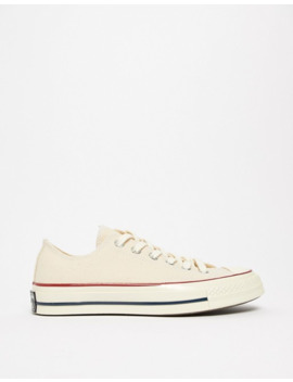 Converse Chuck '70 Ox Sneakers In Parchment by Converse