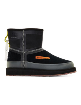 Black Ugg Edition Urban Tech Boots by Heron Preston