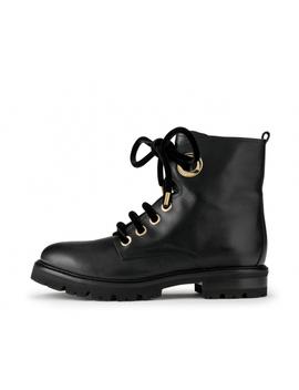 Leather Military Boot by Attilio Giusti Leombruni