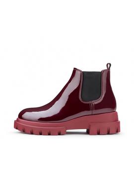 Patent Leather Beatle Boot by Attilio Giusti Leombruni