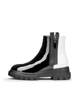 Two Toned Ankle Boot by Attilio Giusti Leombruni