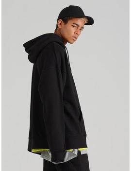Smcocl K Oversized Hooded Sweatshirt Black by Costume O'clock