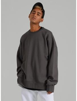 Smcocl K Oversized Sweatshirt Dark Gray by Costume O'clock