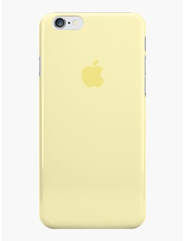 I Phone Case Mellow Yellow I Phone Case & Cover by Thecolorgray