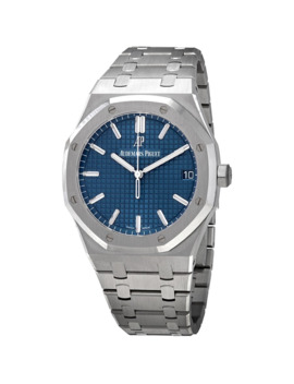 Royal Oak Blue Dial Automatic Men's Watch by Audemars Piguet