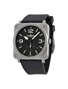 Aviation Black Dial Men's Watch Blr by Bell And Ross