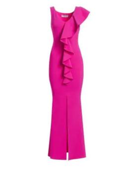 Boudicea Ruffle Gown by Chiara Boni La Petite Robe