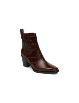 Western Ankle Boots by Ganni
