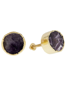Amethyst Doorknob Pair by Monsoon
