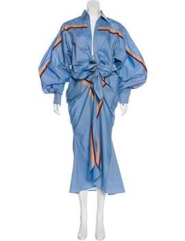 Striped Maxi Dress W/ Tags by Johanna Ortiz