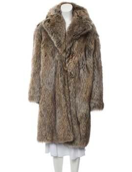 Faux Fur Long Coat by Philosophy Di Lorenzo Serafini