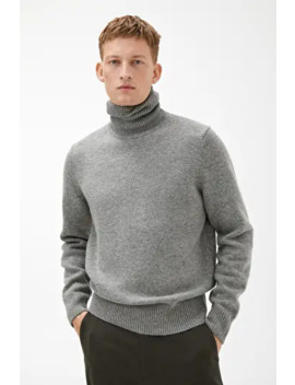 Merino Blend Roll Neck by Arket