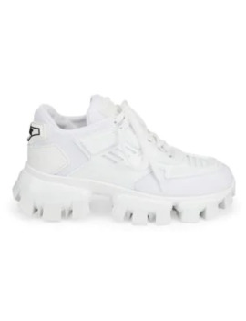 Lug Sole Tech Chunky Sneakers by Prada