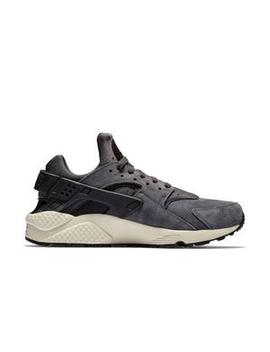 "Nike Air Huarache Run Premium ""Grey"" Men's Shoe by Hibbett"