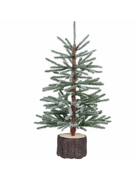 Wilko 3ft Flocked Potted Modern Christmas Tree Wilko 3ft Flocked Potted Modern Christmas Tree by Wilko