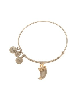 Two Tone Tiger's Claw Expandable Wire Bracelet by Alex And Ani