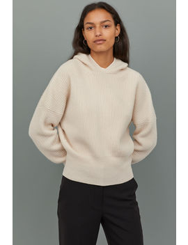Cashmere Hooded Sweater by H&M