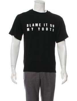 Blame It On My Youth T Shirt W/ Tags by Misbhv