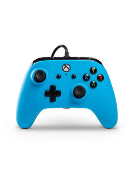 Power A Wired Controller For Xbox One   Blue (1508493 01) by Power A