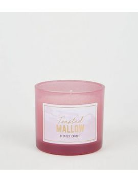 Coral Ombré Toasted Mallow Scented Candle by New Look