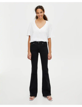 Flared Jeans Met Halfhoge Taille by Pull & Bear