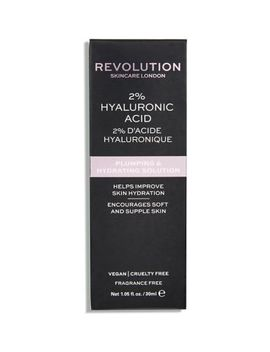 Revolution Skincare 2% Hyaluronic Acid Plumping & Hydrating Solution 30ml by Revolution
