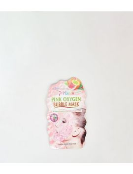 Montagne Jeunesse 7th Heaven Pink Bubble Face Mask by New Look