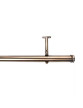 Cambria® Premier Complete Decorative Drapery Rod In Warm Gold by Bed Bath And Beyond