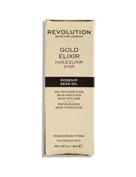 Revolution Skincare Gold Elixir Rosehip Seed Oil 30ml by Revolution