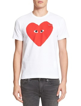 Slim Fit Graphic T Shirt by Comme Des GarÇons Play
