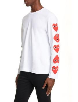 Play Long Sleeve T Shirt by Comme Des GarÇons