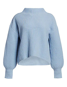 Helena Drop Shoulder Mockneck Sweater by A.L.C.