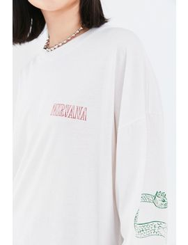 Nirvana Serve The Servants Long Sleeve Tee by Urban Outfitters