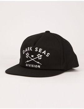 Dark Seas Tridents Mens Snapback Hat by Dark Seas
