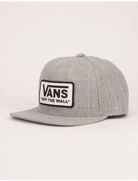Vans Whitford Heather Gray Mens Snapback Hat by Vans