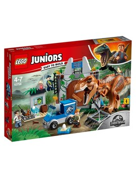 Lego 10758 4+ Jurassic World T. Rex Breakout Building Set by Smyths